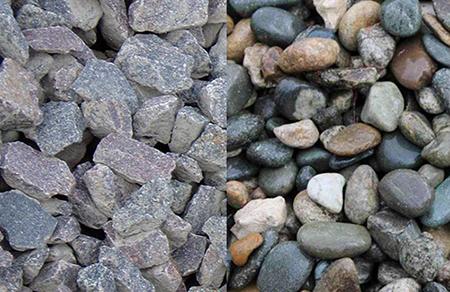 В бетон гравий или щебень как готовить строительный раствор